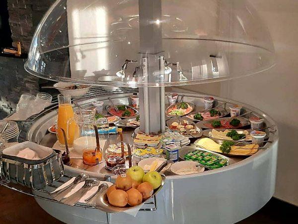 Frühstücksbuffet Pension Ari